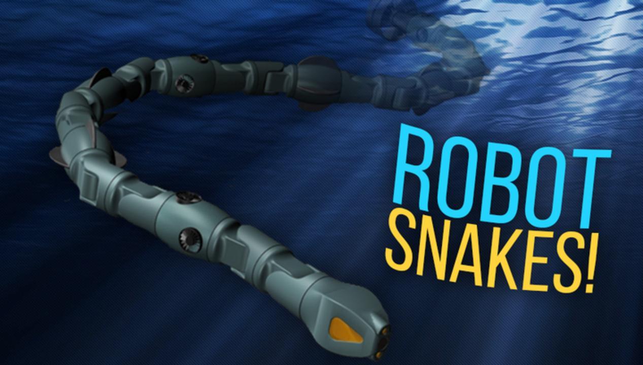 Robot Snakes To Help Undersea Repairs