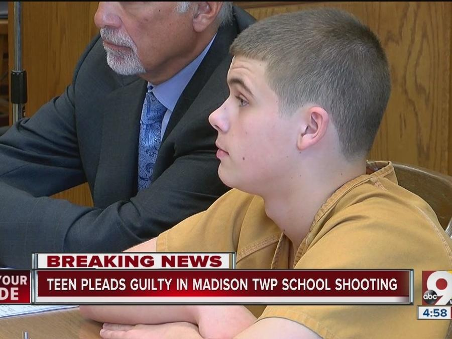 Teen pleads guilty in Madison Township school shooting