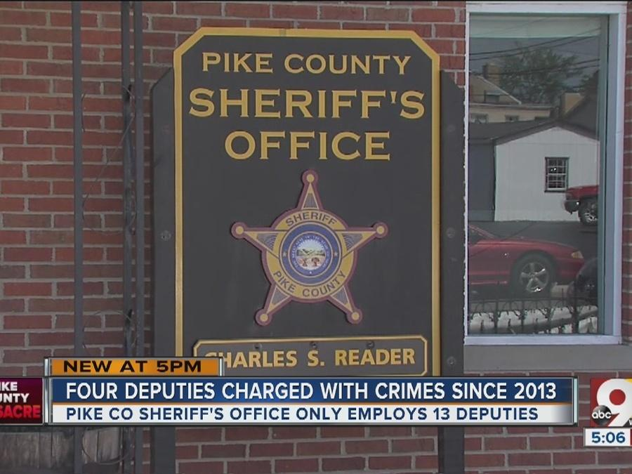 Four Pike County deputies charged with crimes since 2013