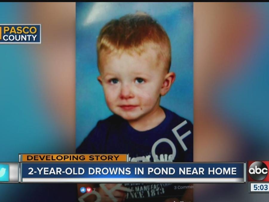 Charges possible in the drowning death of Pasco County toddler, Clayton Foskey