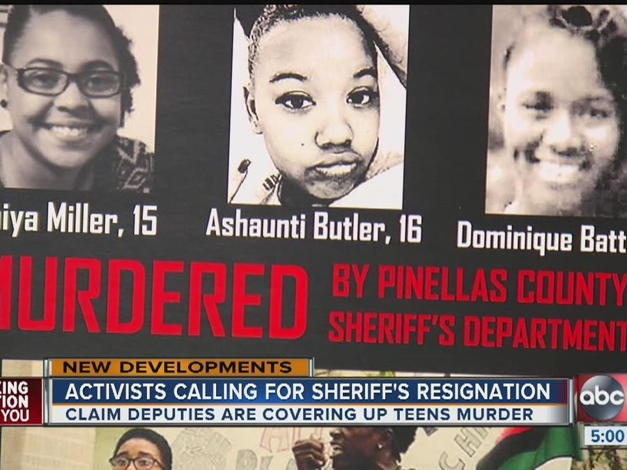 St. Pete activists accuse deputies of murder