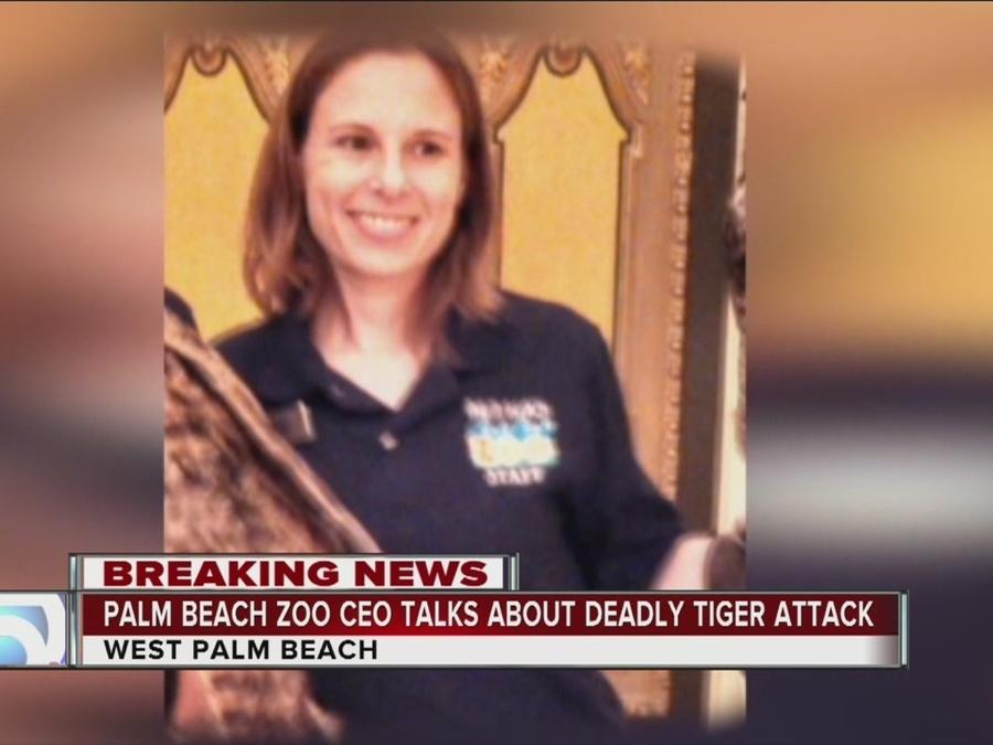 Palm Beach Zoo Zoo CEO speaks about tiger attack