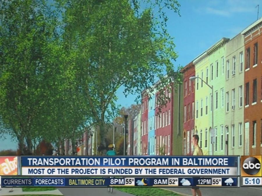 Transportation pilot program coming to Baltimore