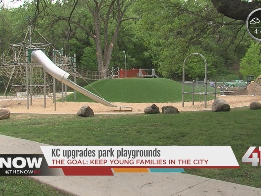 Kansas City upgrading park playgrounds
