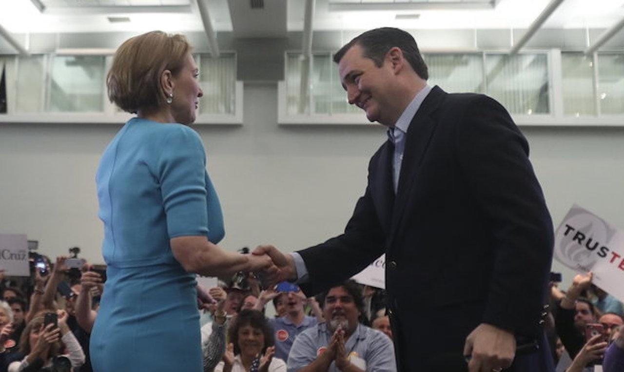 Cruz Appoints Fiorina Vice President Of Imagination Land