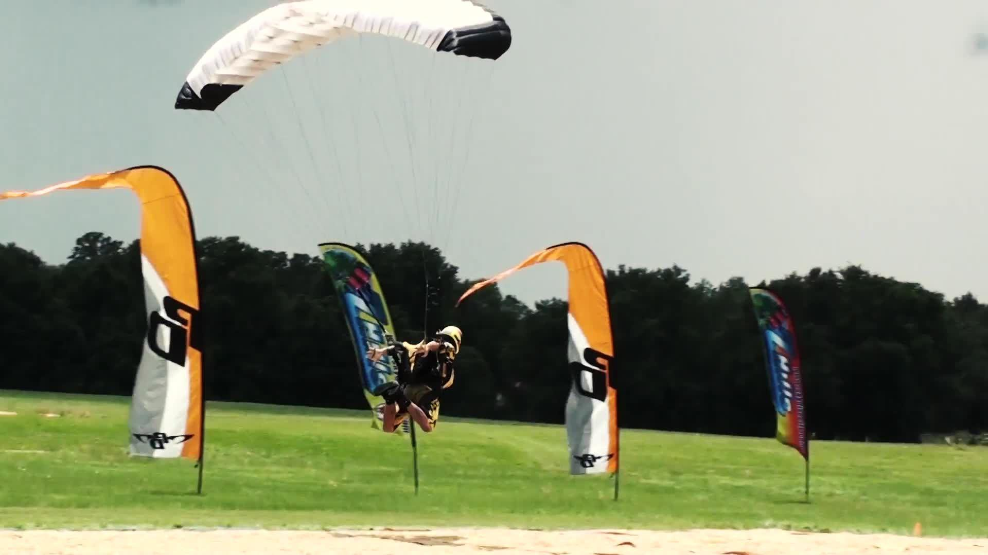 Insane 'Swooping' Skydiving Makes Your Tandem Jump Look Lame