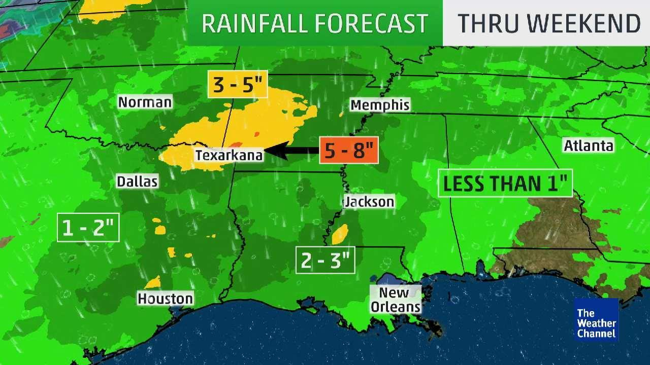 Texas Underwater: Over 6 Feet of Rain in 6 Months