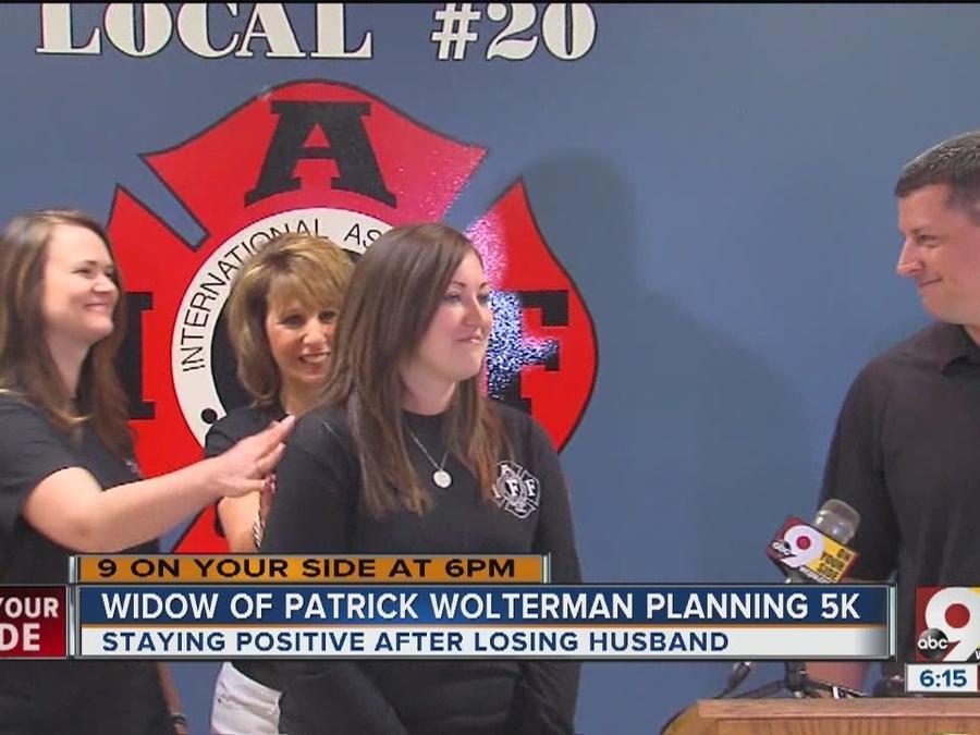 Hamilton firefighter's widow organizes memorial 5K race in husband's honor