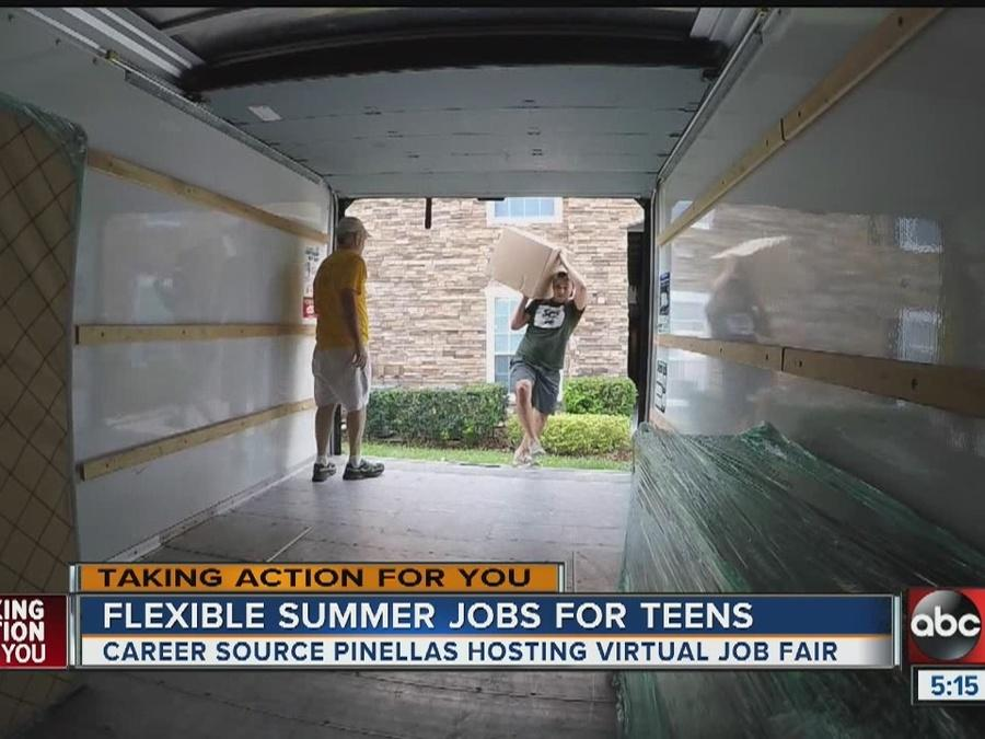 Hundreds of job opportunities for young people acorss Tampa Bay