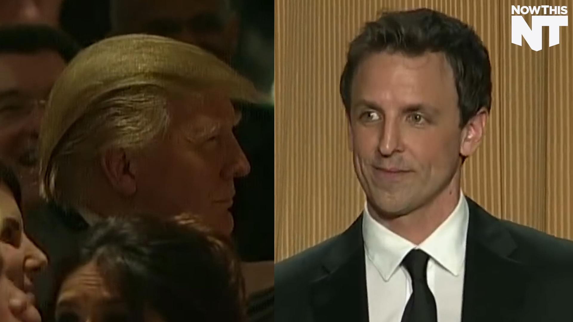 Did Seth Meyers Burn Donald Trump So Hard He Ran For President?