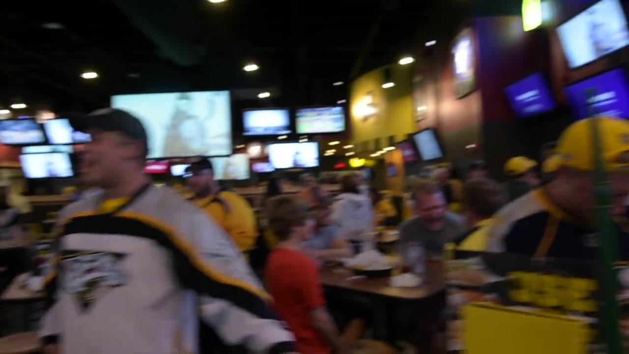 Predators Fans Celebrate Game 7 Win