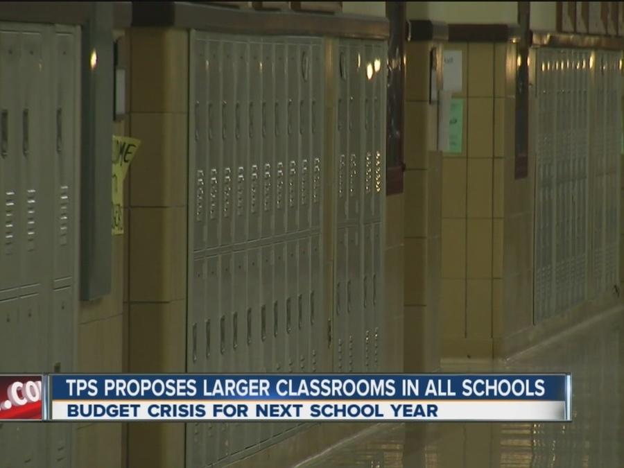 TPS Proposes Larger Classrooms In All Schools