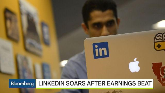 Why LinkedIn Shares Are Soaring
