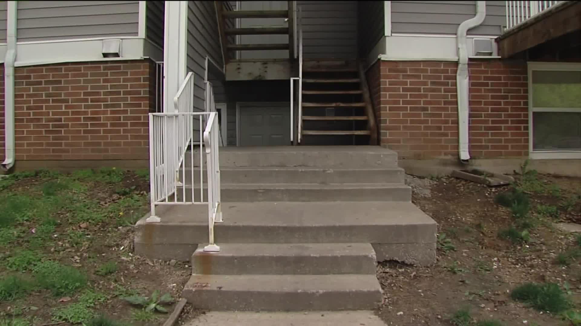Terrified Teens Spot Home Intruder Hiding Behind Bathroom Door