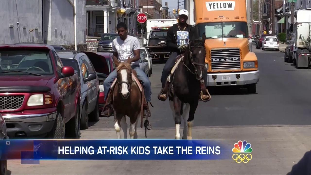 In This Inner-City Philadelphia Neighborhood, Concrete Cowboys Ride