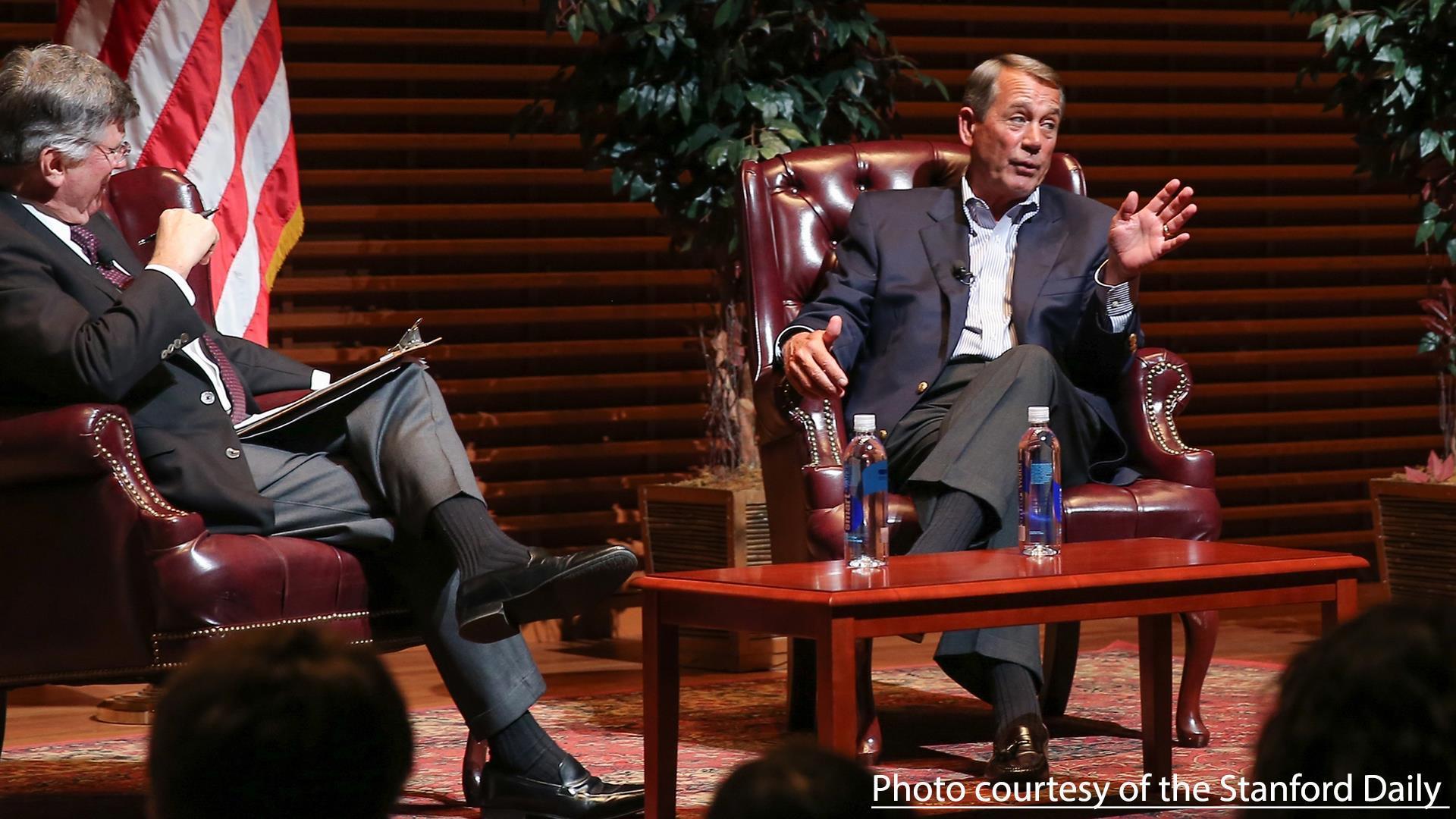 Listen to John Boehner Call Ted Cruz 'Lucifer'