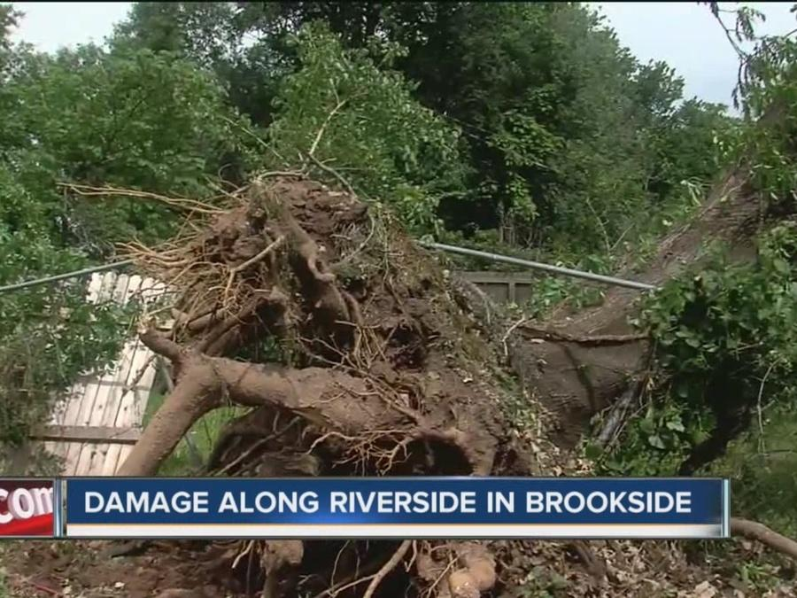 Storm Damage Cleanup Continues