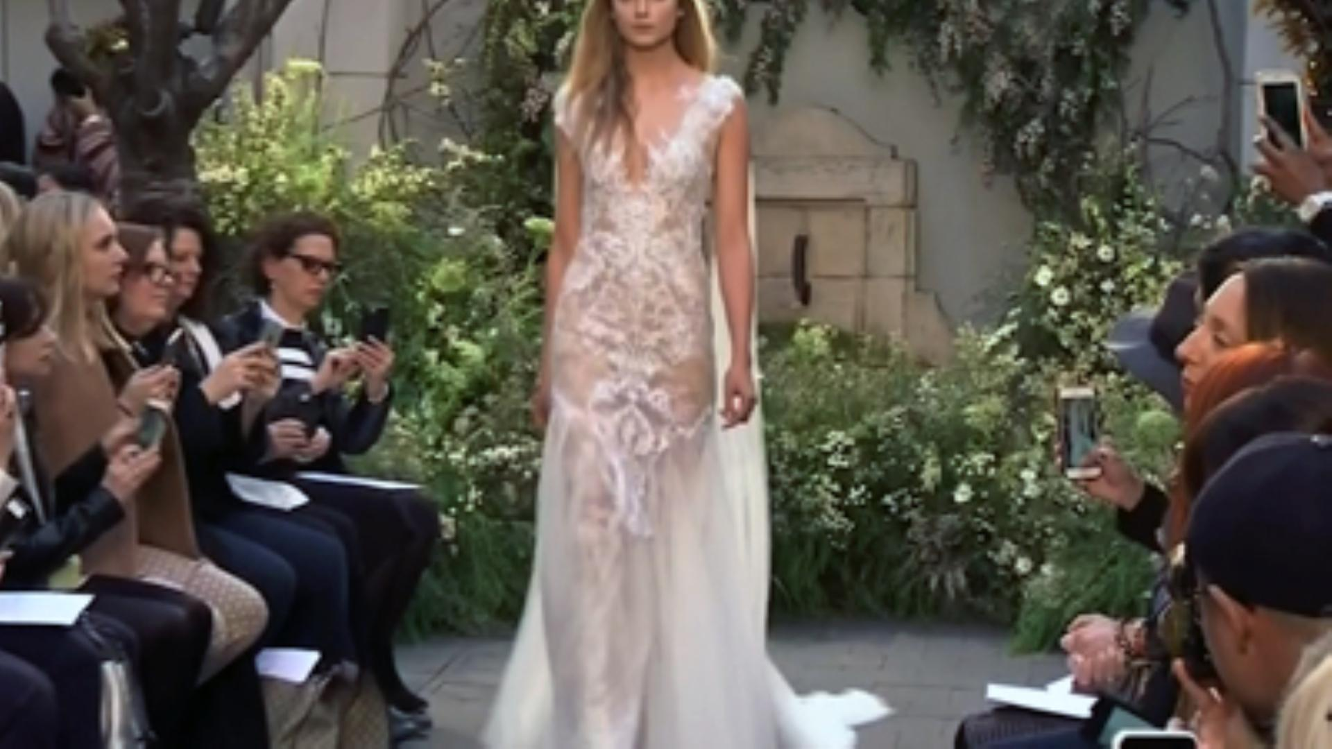 Highlights of Monique Lhuillier's Bridal Fashion