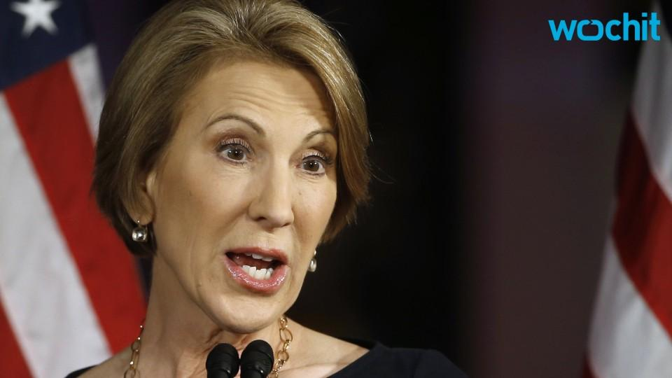 Wait, Who is Carly Fiorina Again?