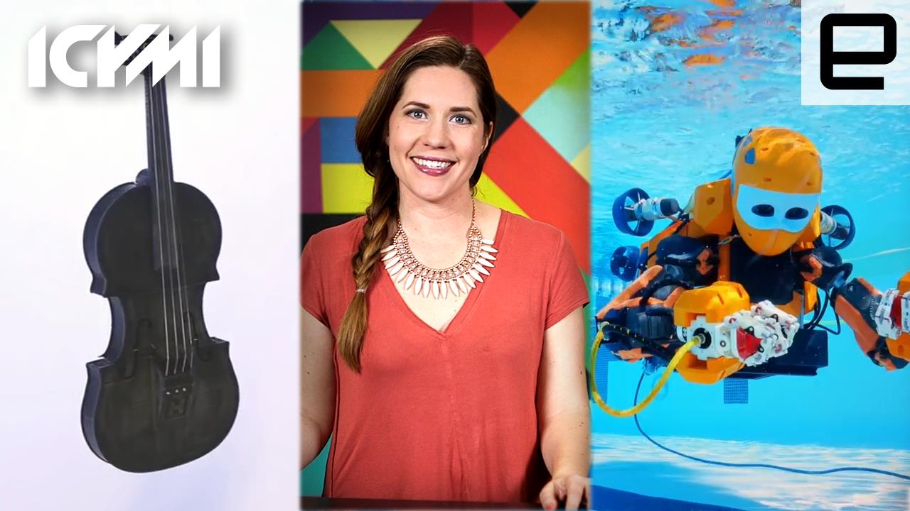 ICYMI: 3D-Printed Instrument, Humanoid Diver and More