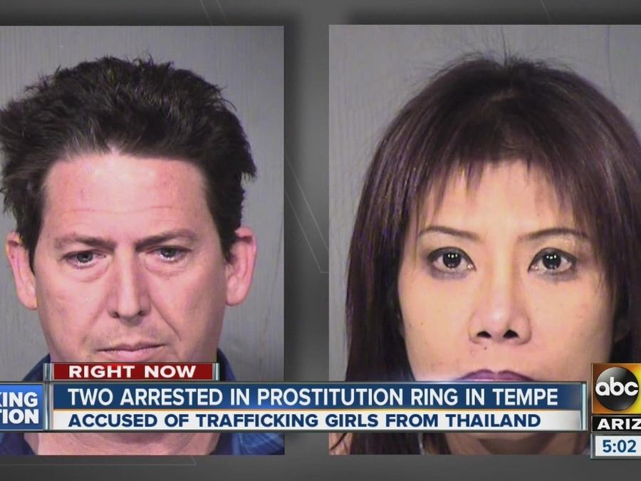 Two arrested in prostitution ring in Tempe