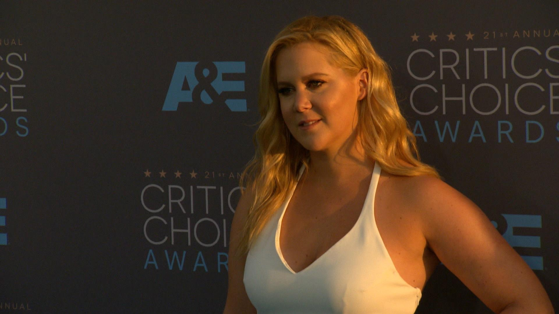 Amy Schumer's Special Surprise for Her Dad
