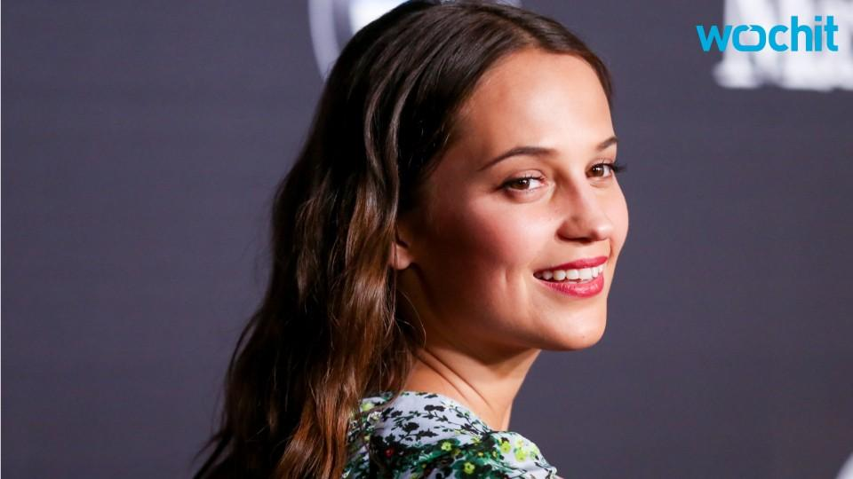 Alicia Vikander is the New Lara Croft in 'Tomb Raider'