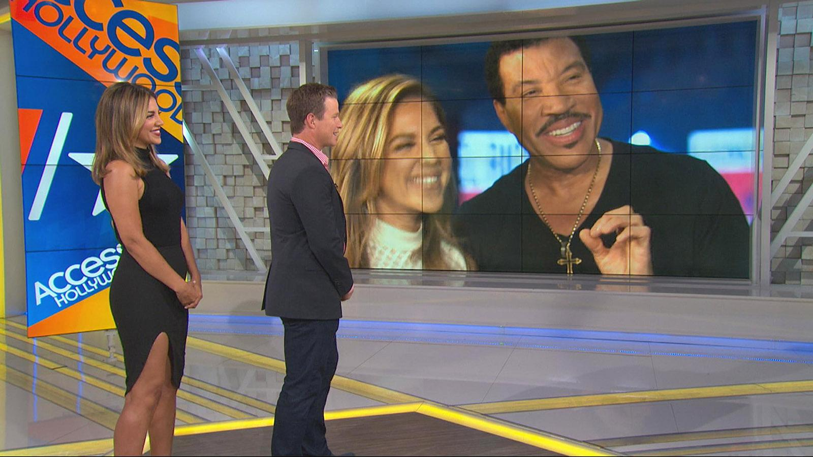 #TheTag: Watch Lionel Richie's Impromptu 'Endless Love' Performance!