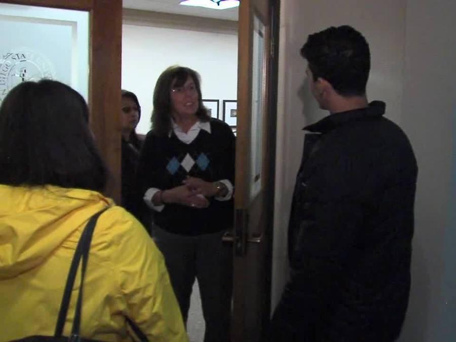 RAW VIDEO: Student tries to speak to SDSU president