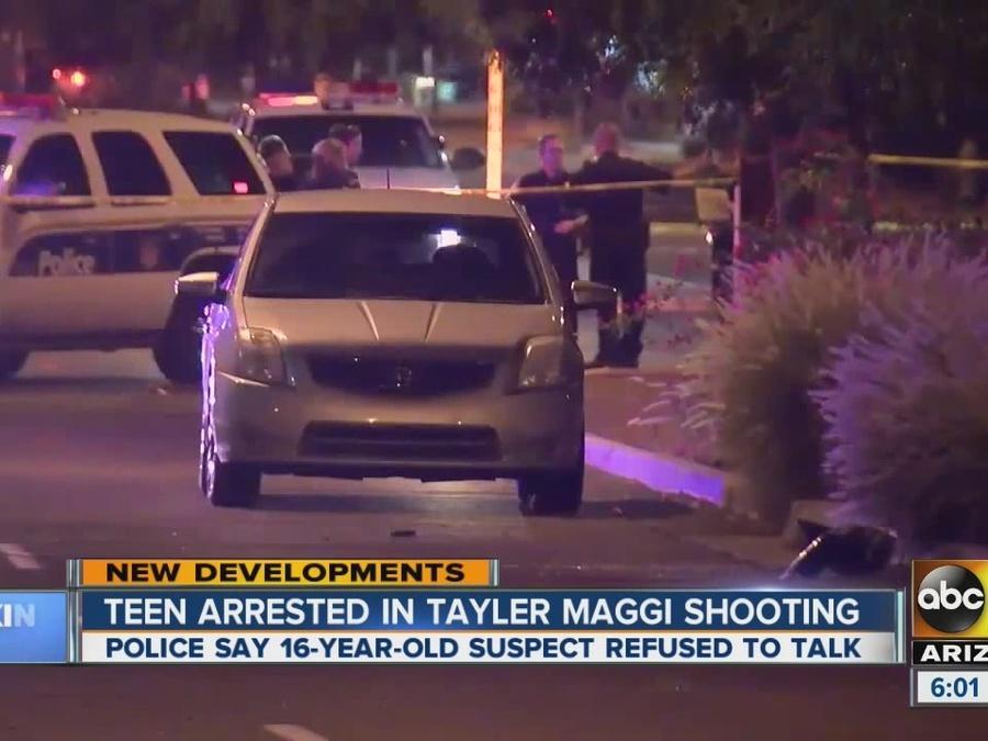 Teen arrested in Tayler Maggi shooting