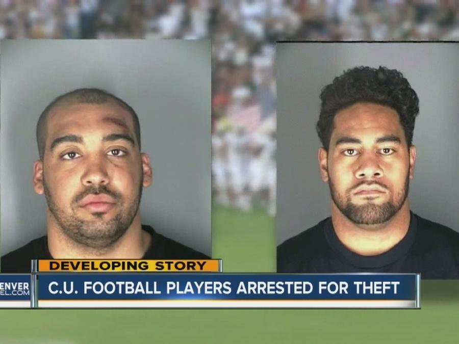 CU football players arrested for theft