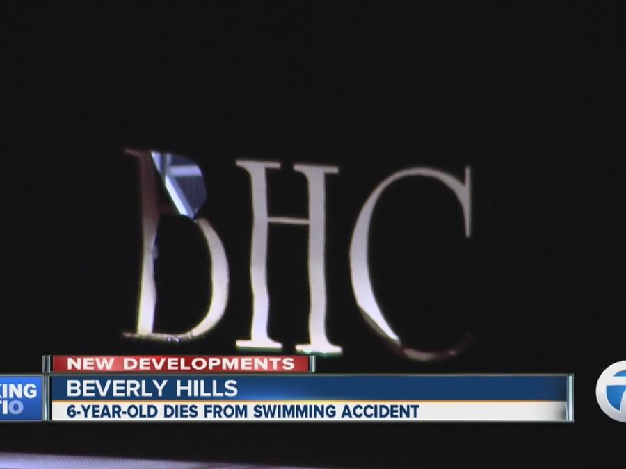 6-year-old girl dies after pool accident at Beverly Hills Club