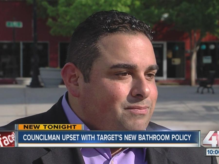 Councilman upset with Target's bathroom policy