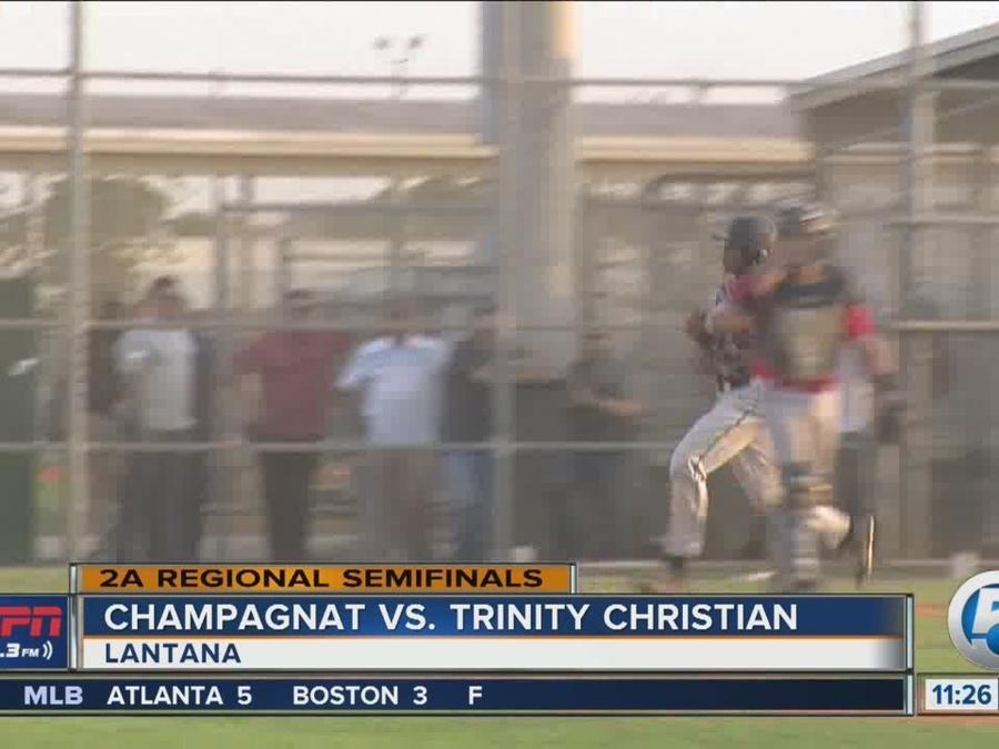 Trinity Christian baseball advances to regional finals