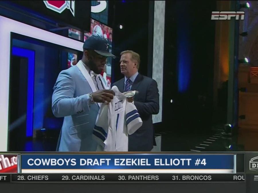 NFL Draft: Cowboys take Ezekiel Elliott #4 overall