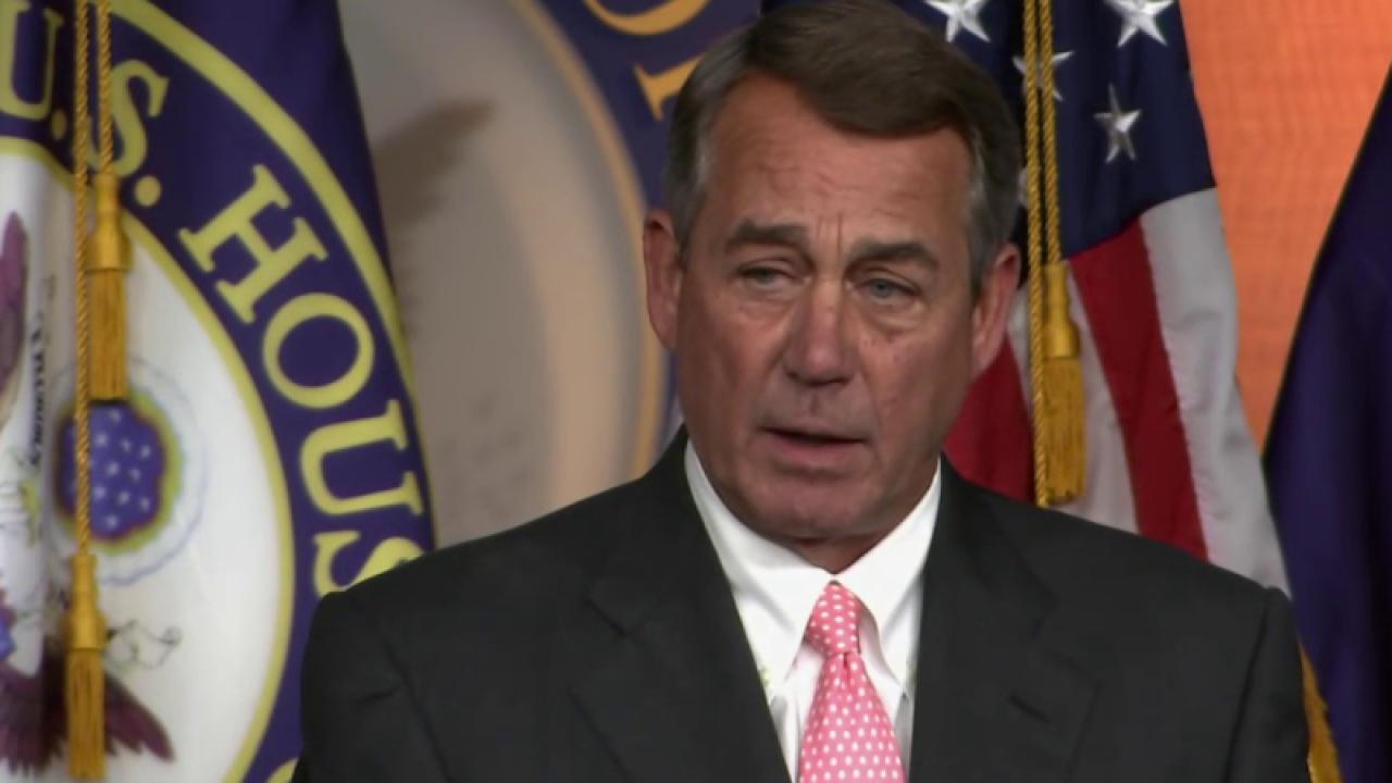 Boehner: Cruz will win 'over my dead body'