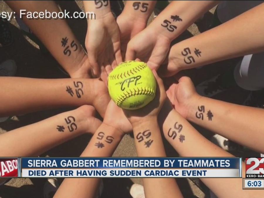 Softball teammates remember Sierra Gabbert