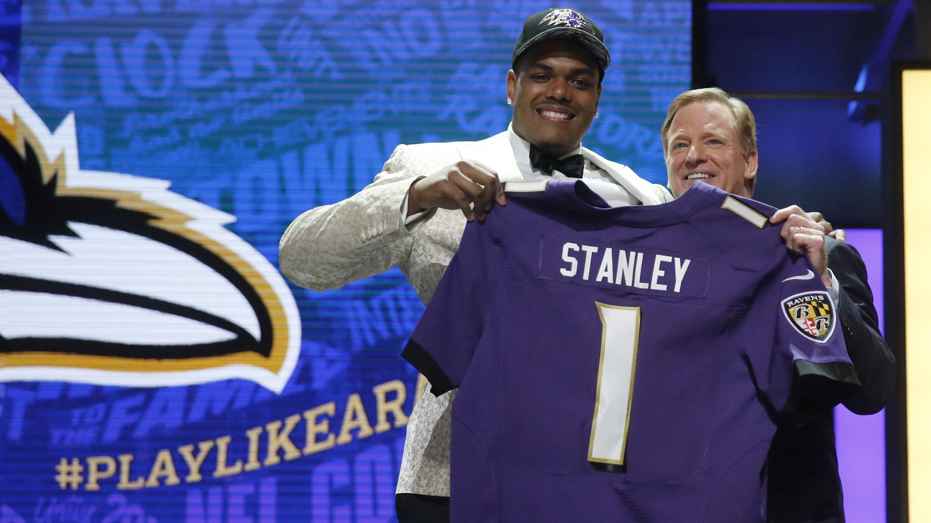 Ravens' pick reminiscent of Baltimore legend