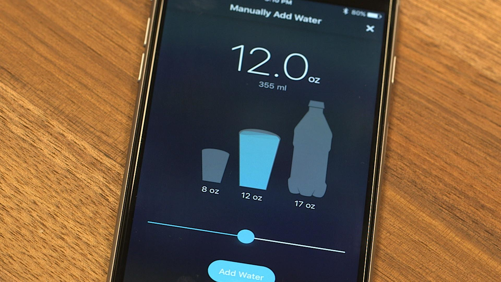 Track your food and drink intake with tech