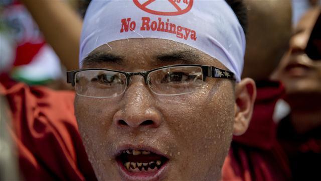Myanmar Protest Against U.S. Use of Term 'Rohingya'