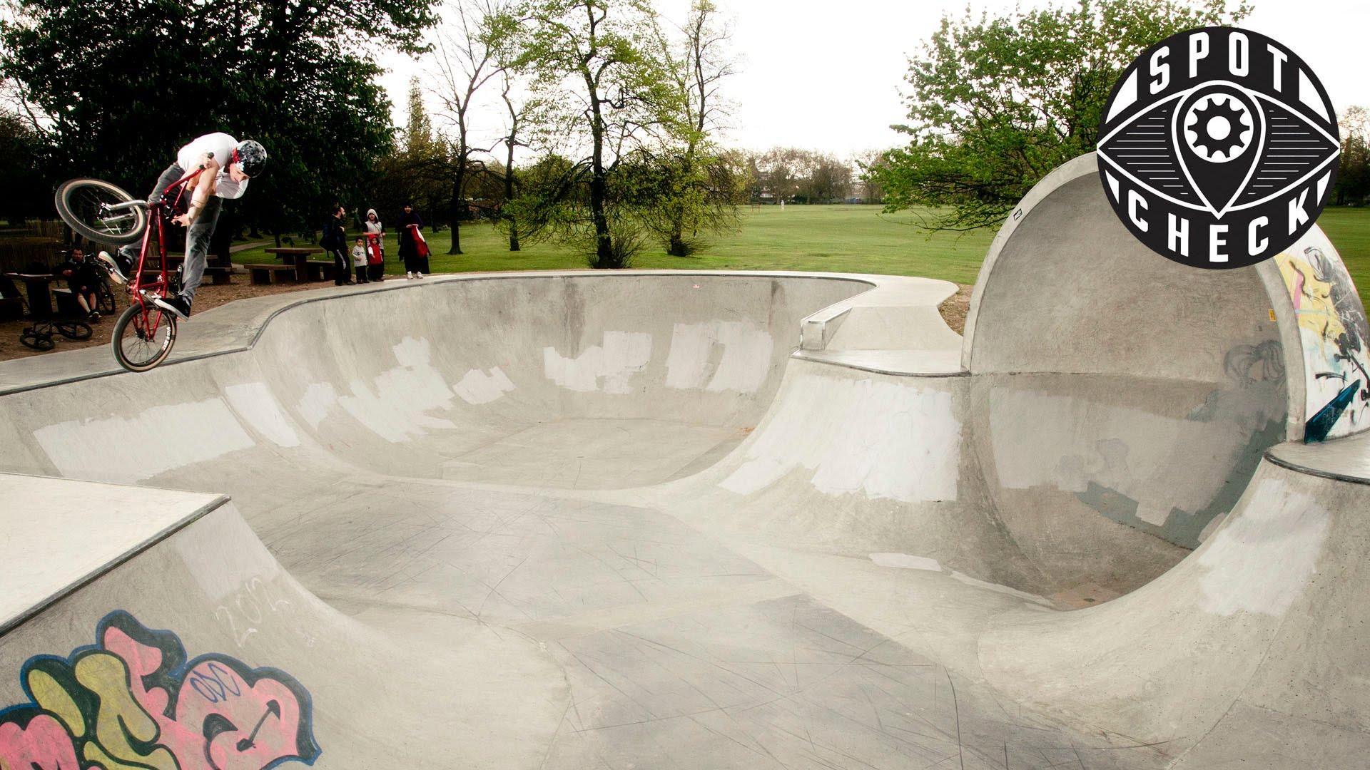 SPOT CHECK: Victoria Park Skatepark, London