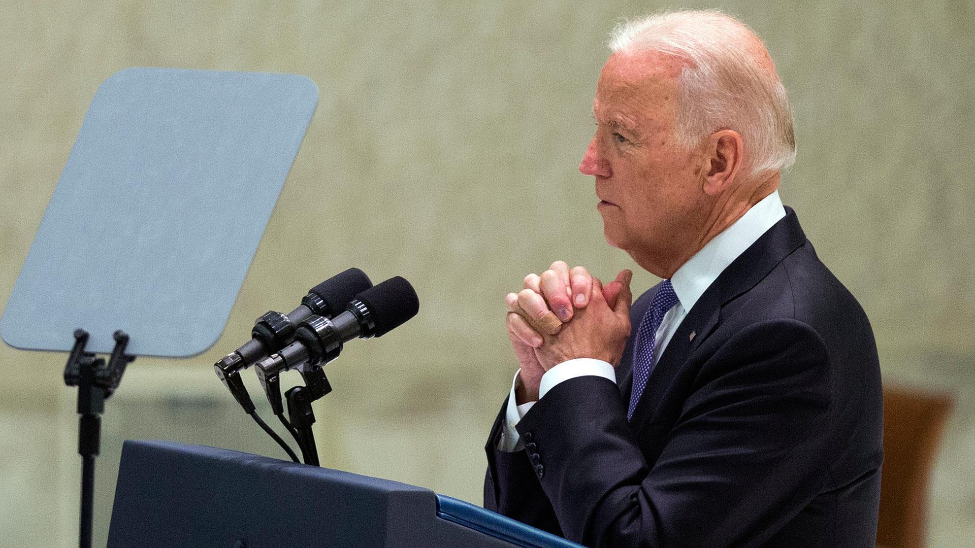 Joe Biden Demands Faster International Action on Cancer Research