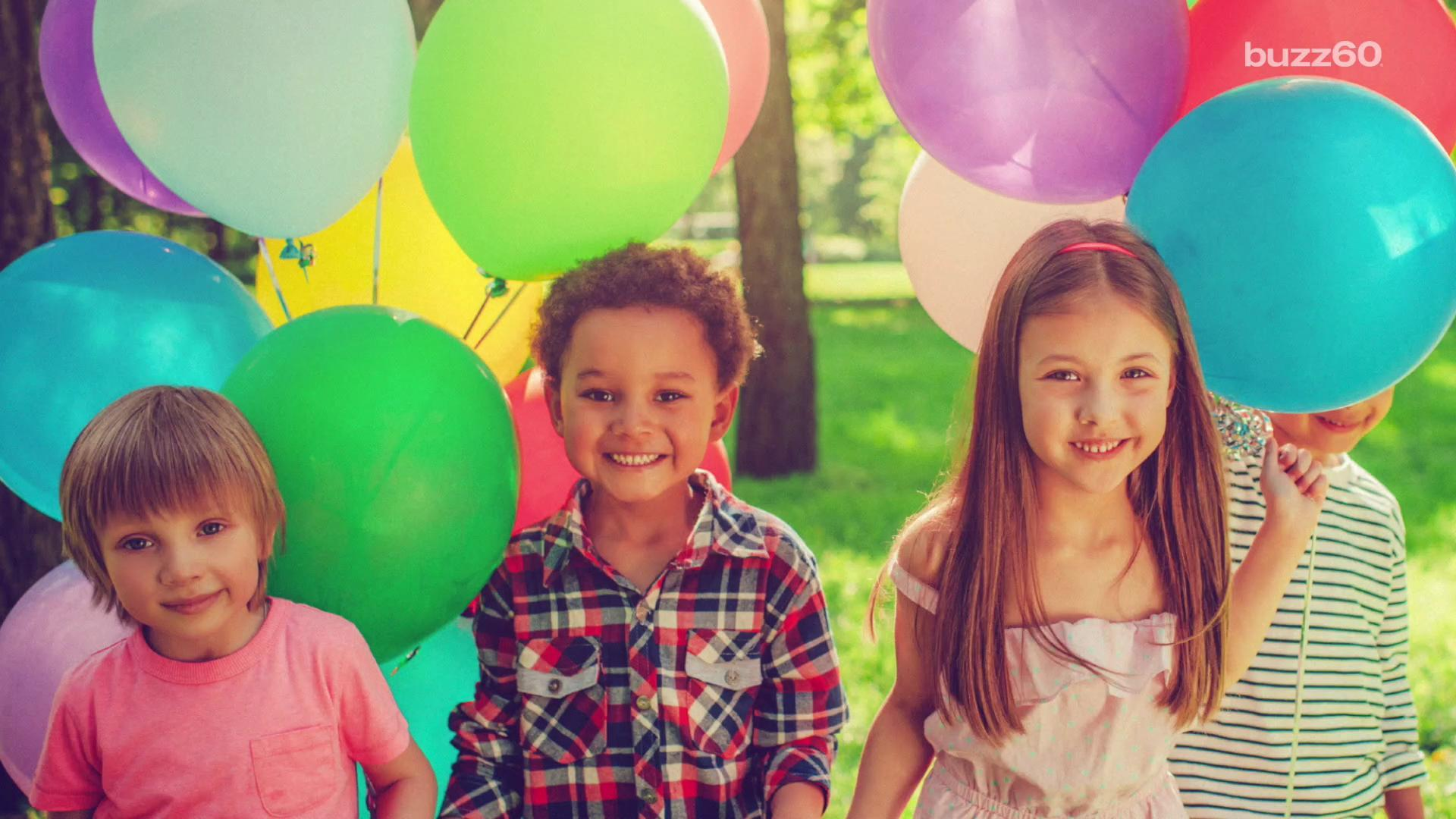How to Throw a Great Outdoor Kids Party!