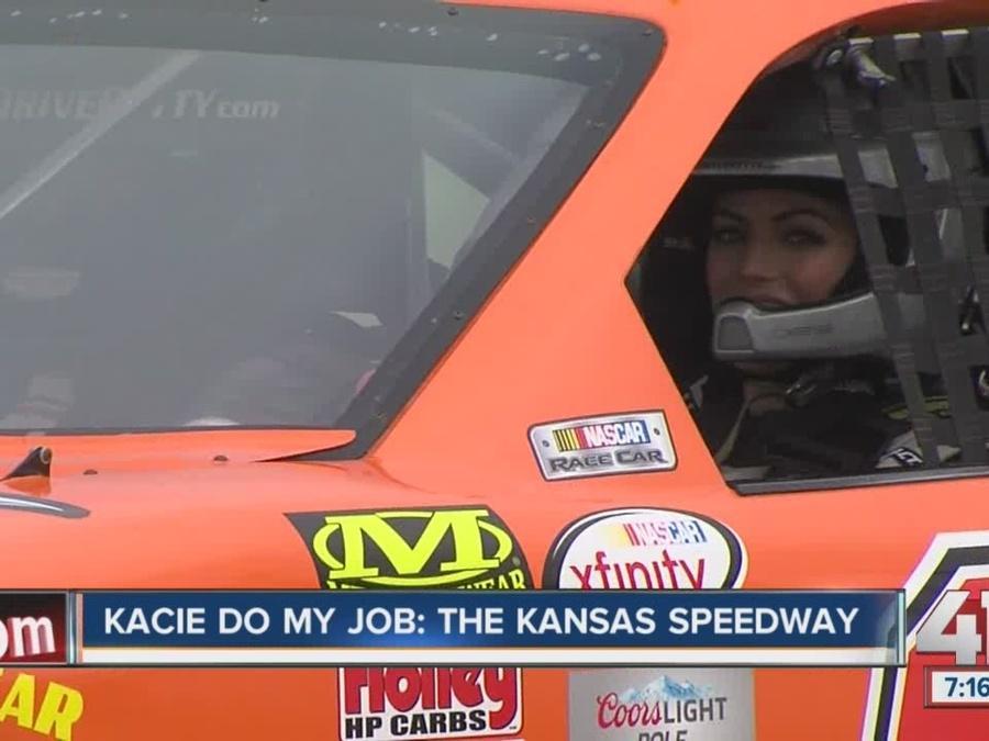 Kacie Do My Job: The Kansas Speedway