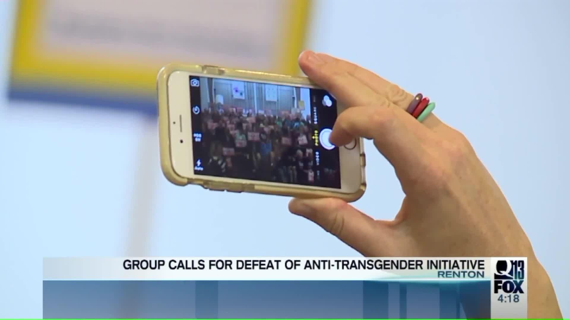 Seattle Group Says New Initiative Targets Transgender People