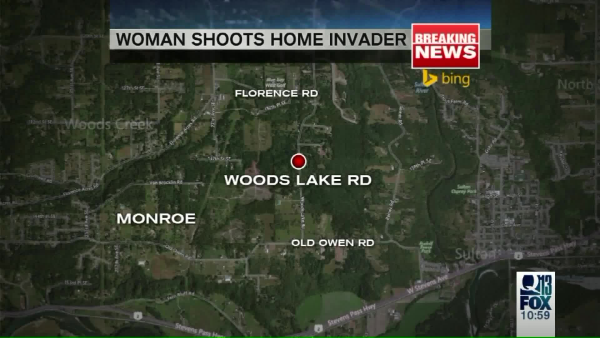 80-Year-Old Woman Shoots, Kills Intruder Who Stabbed Husband