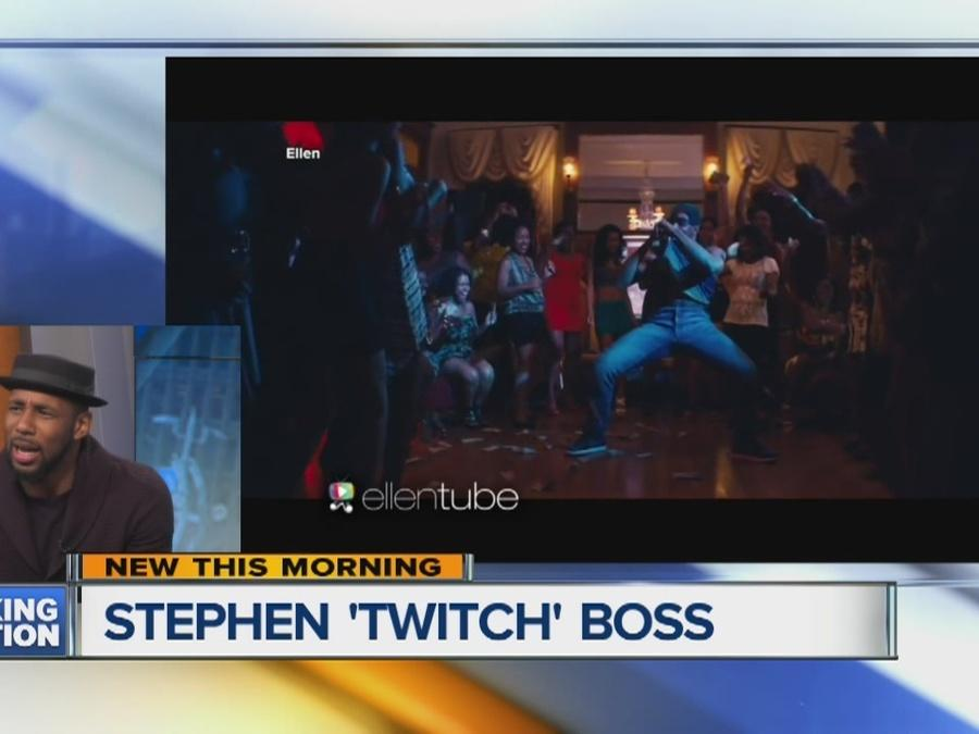 Stephen 'tWitch' Boss stops by Broadcast House