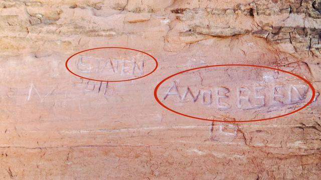 Authorities Looking For Vandals After Graffiti Spotted In Arches National Park