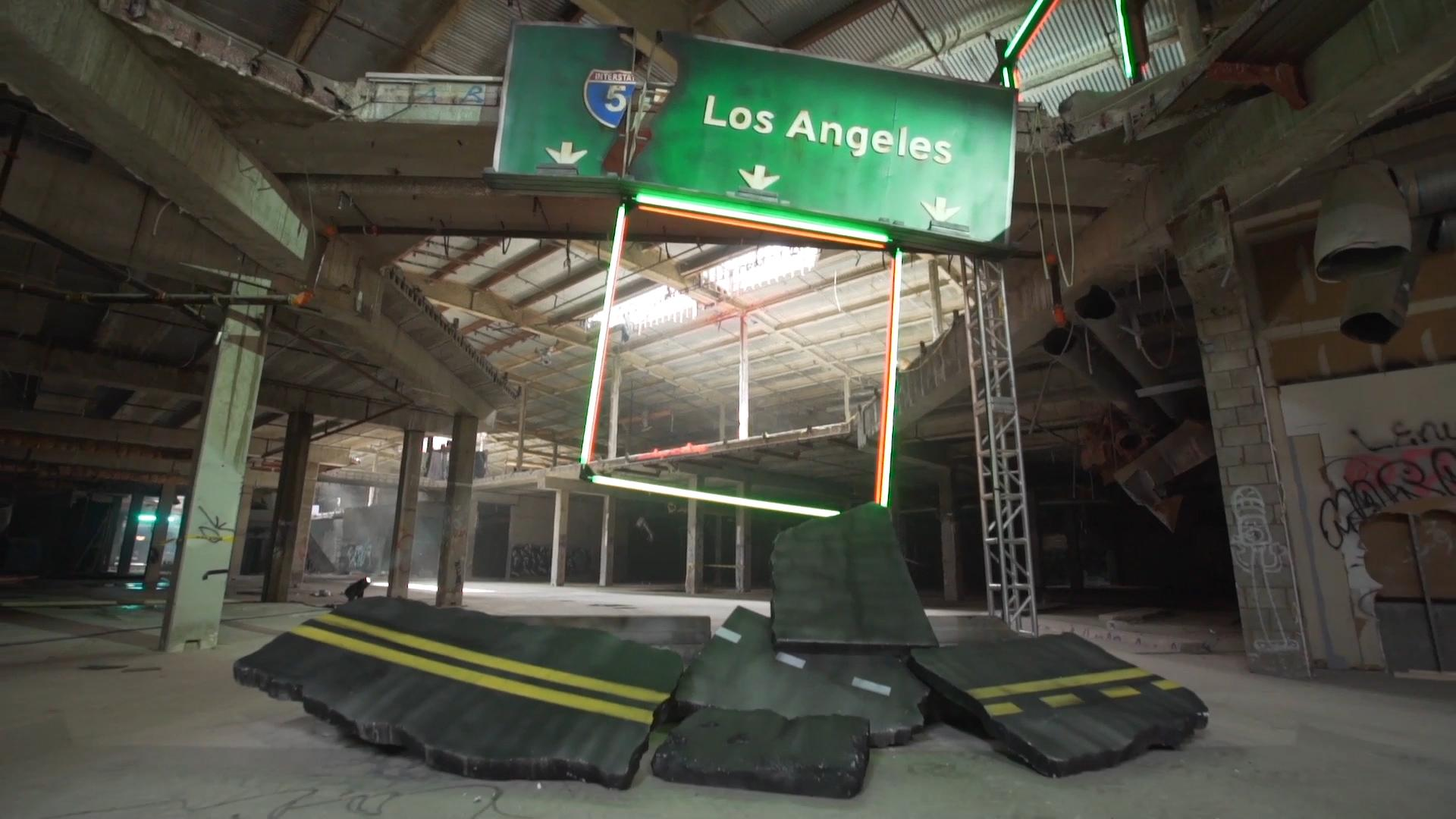 The Drone Racing League features futuristic, flashy events