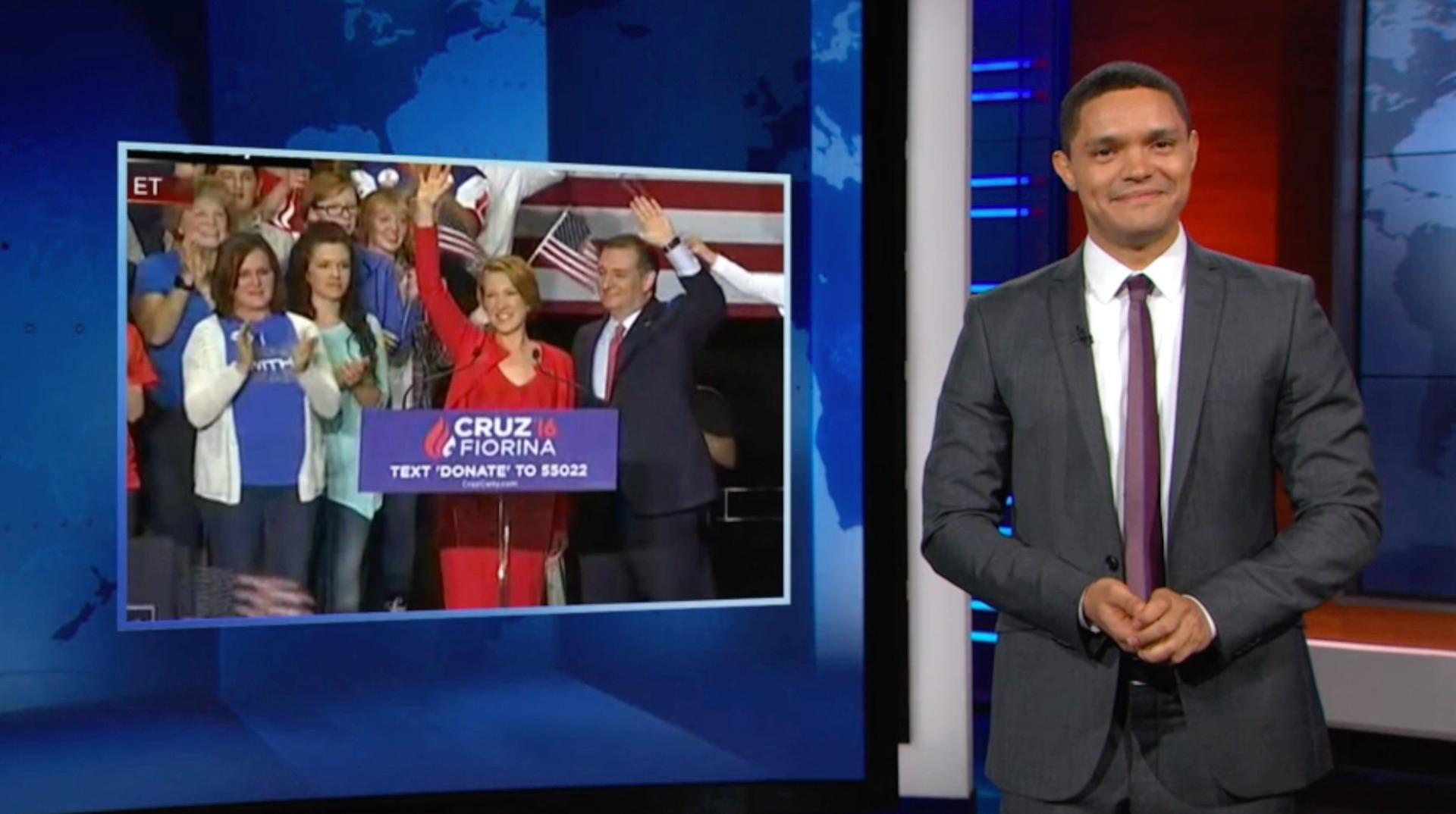 Late-night laughs: Carly Fiorina as vice president edition